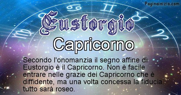 Eustorgio - Segno zodiacale affine al nome Eustorgio