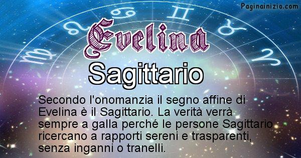 Evelina - Segno zodiacale affine al nome Evelina