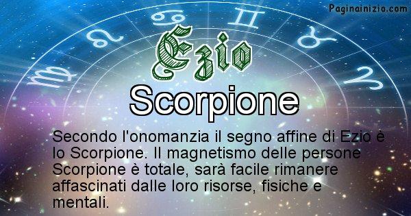 Ezio - Segno zodiacale affine al nome Ezio