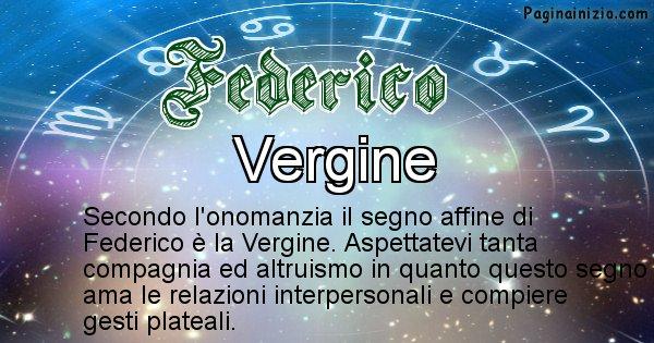 Federico - Segno zodiacale affine al nome Federico