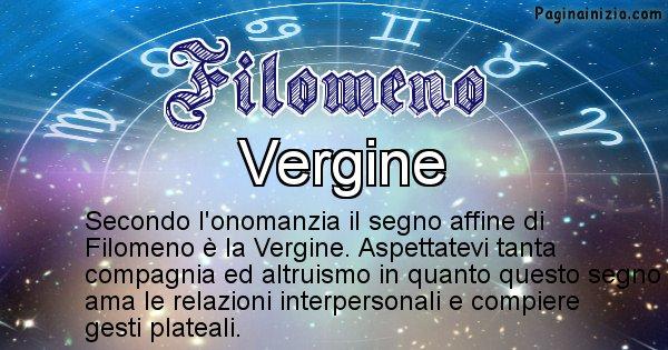 Filomeno - Segno zodiacale affine al nome Filomeno