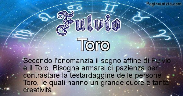 Fulvio - Segno zodiacale affine al nome Fulvio