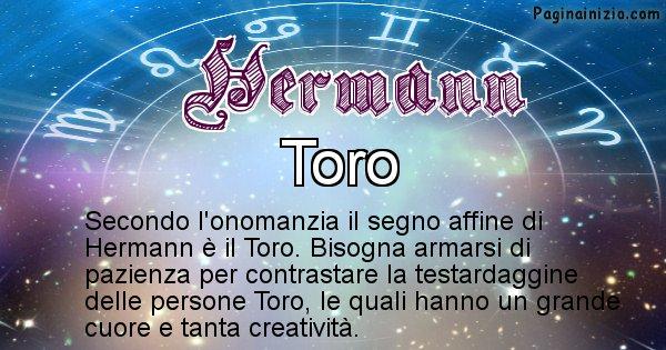 Hermann - Segno zodiacale affine al nome Hermann