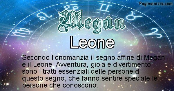 Megan - Segno zodiacale affine al nome Megan