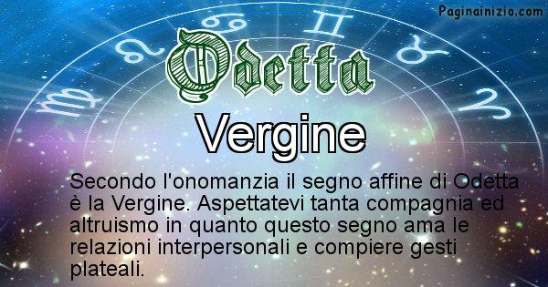 Odetta - Segno zodiacale affine al nome Odetta