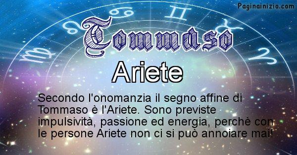 Tommaso - Segno zodiacale affine al nome Tommaso