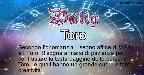Wally - Segno zodiacale affine al nome Wally