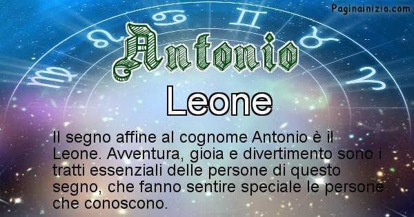 Antonio - Scopri il segno zodiacale affine al cognome Antonio