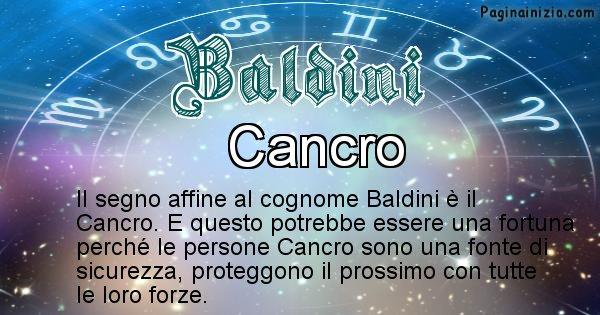 Baldini - Scopri il segno zodiacale affine al cognome Baldini
