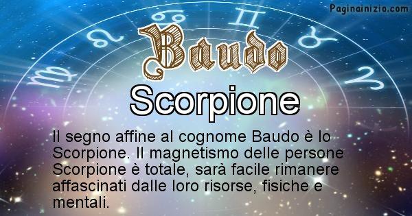 Baudo - Scopri il segno zodiacale affine al cognome Baudo