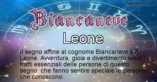 Biancaneve - Scopri il segno zodiacale affine al cognome Biancaneve