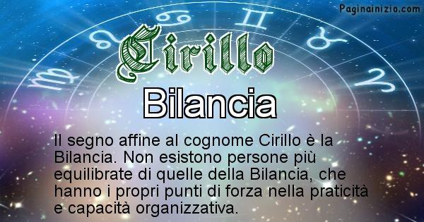 Cirillo - Scopri il segno zodiacale affine al cognome Cirillo