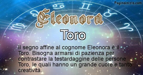 Eleonora - Scopri il segno zodiacale affine al cognome Eleonora