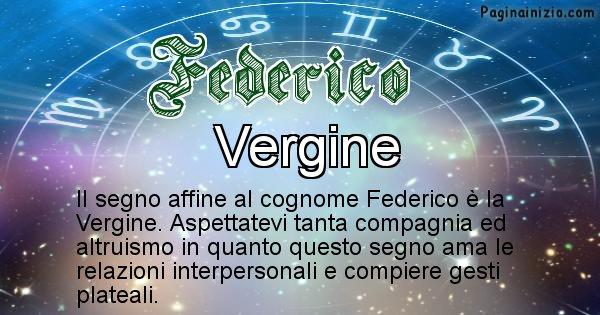 Federico - Scopri il segno zodiacale affine al cognome Federico