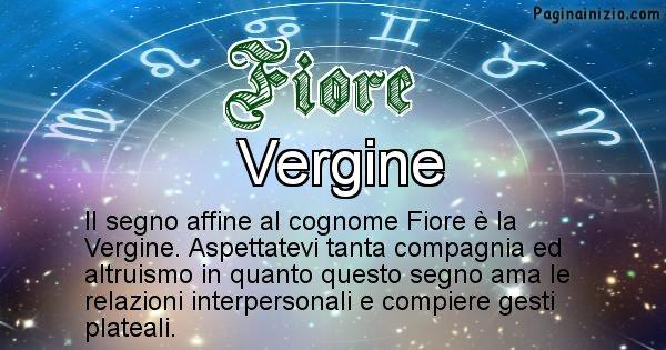 Fiore - Scopri il segno zodiacale affine al cognome Fiore