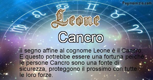 Leone - Scopri il segno zodiacale affine al cognome Leone