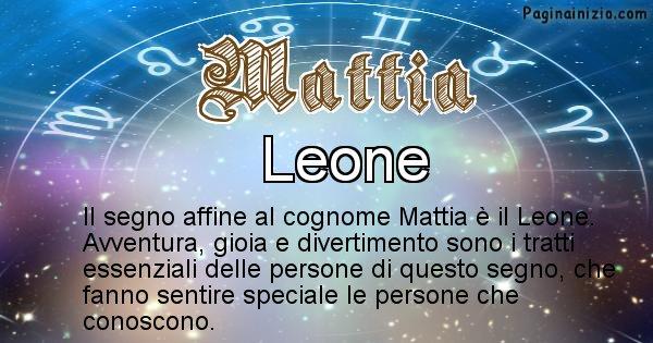Mattia - Scopri il segno zodiacale affine al cognome Mattia