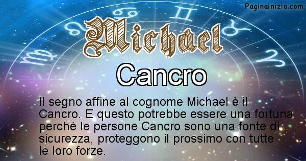 Michael - Scopri il segno zodiacale affine al cognome Michael