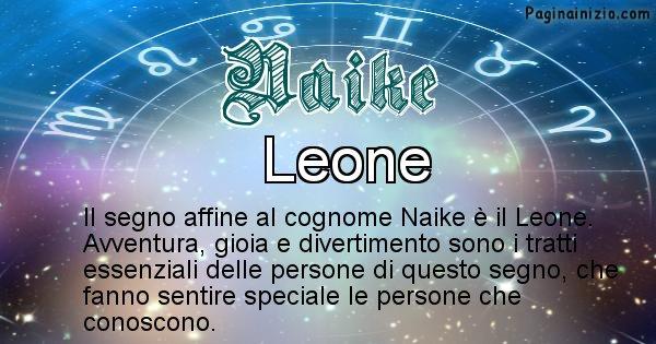 Naike - Scopri il segno zodiacale affine al cognome Naike