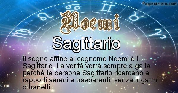 Noemi - Scopri il segno zodiacale affine al cognome Noemi