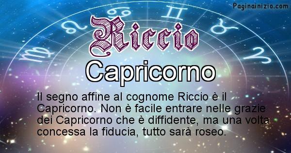 Riccio - Scopri il segno zodiacale affine al cognome Riccio
