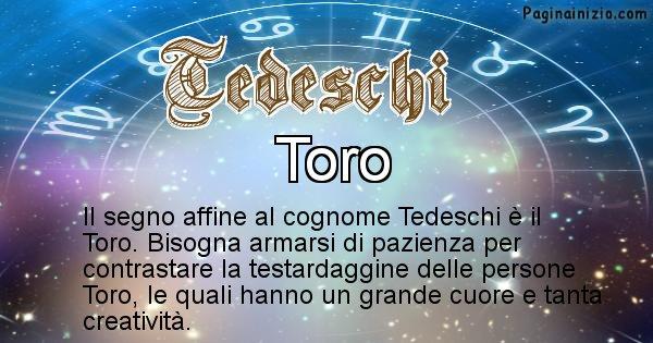 Tedeschi - Scopri il segno zodiacale affine al cognome Tedeschi