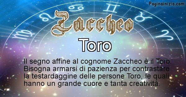 Zaccheo - Scopri il segno zodiacale affine al cognome Zaccheo