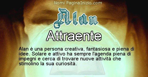 Alan - Significato reale del nome Alan