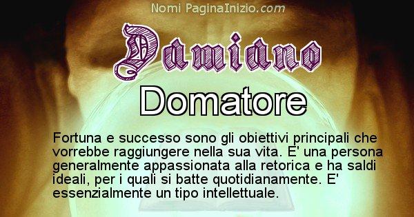 Damiano - Significato reale del nome Damiano