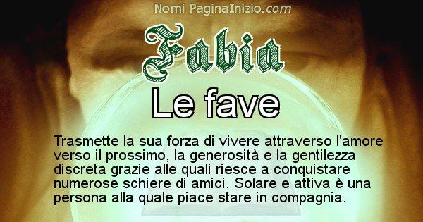 Fabia - Significato reale del nome Fabia