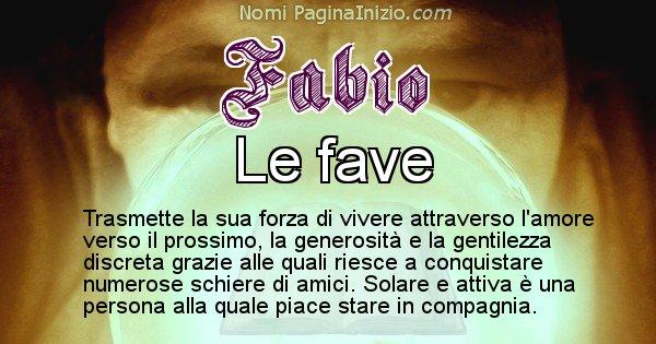 Fabio - Significato reale del nome Fabio