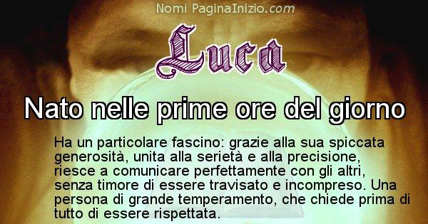 Luca - Significato reale del nome Luca