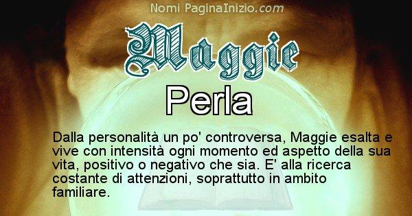 Maggie - Significato reale del nome Maggie