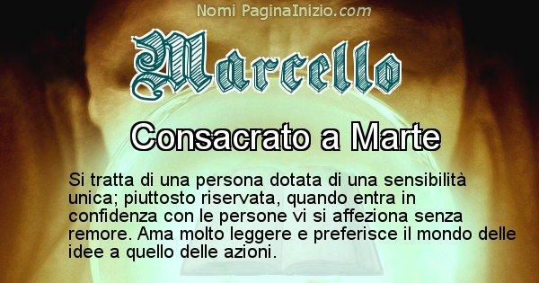 Marcello - Significato reale del nome Marcello