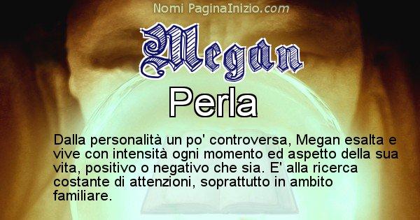 Megan - Significato reale del nome Megan