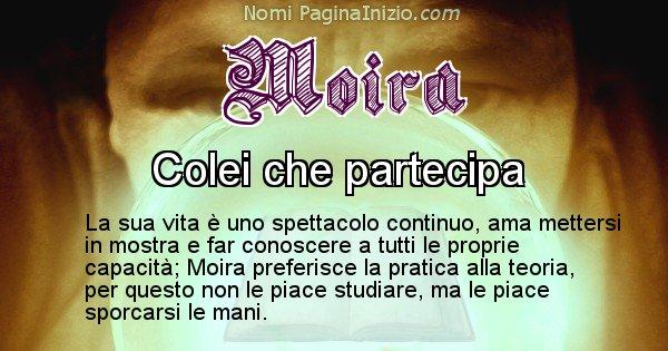 Moira - Significato reale del nome Moira