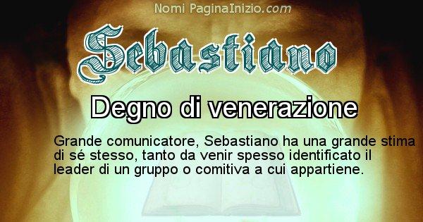 Immagini Con Il Nome Sebastiano