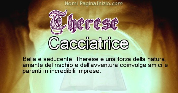 Therese - Significato reale del nome Therese