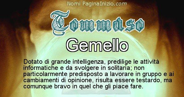 Tommaso - Significato reale del nome Tommaso