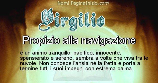 Virgilio - Significato reale del nome Virgilio