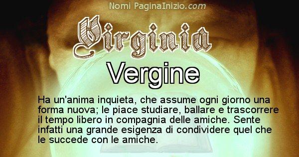 Virginia - Significato reale del nome Virginia