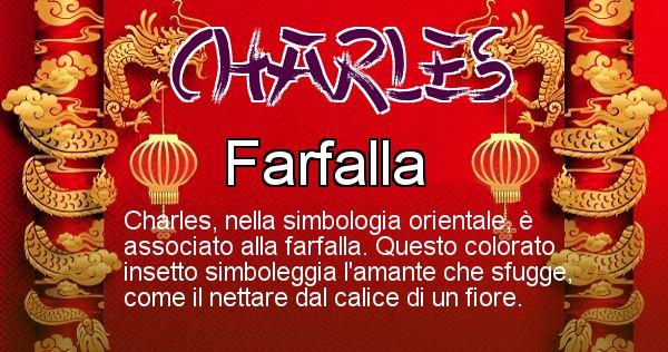 Charles - Significato orientale del cognome Charles