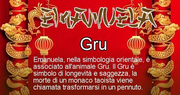 Emanuela - Significato orientale del cognome Emanuela