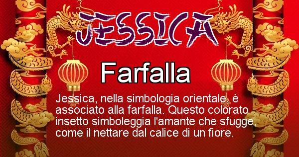 Jessica - Significato orientale del cognome Jessica