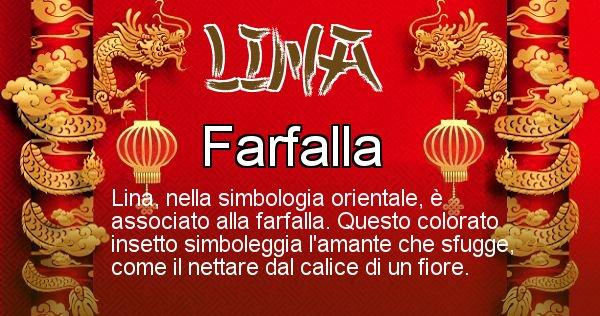 Lina - Significato orientale del cognome Lina