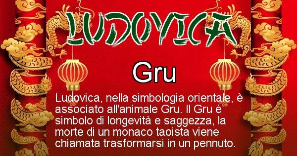Ludovica - Significato orientale del cognome Ludovica