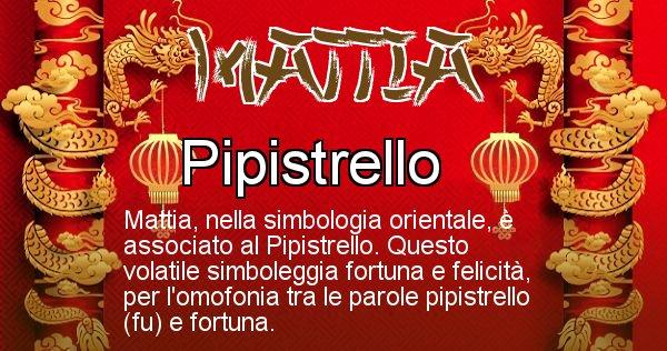 Mattia - Significato orientale del cognome Mattia
