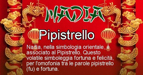 Nadia - Significato orientale del cognome Nadia