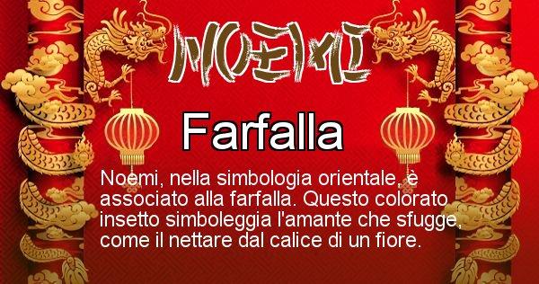 Noemi - Significato orientale del cognome Noemi