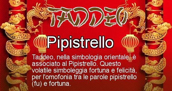 Taddeo - Significato orientale del cognome Taddeo